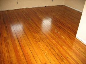 Wood floor refinishing-after